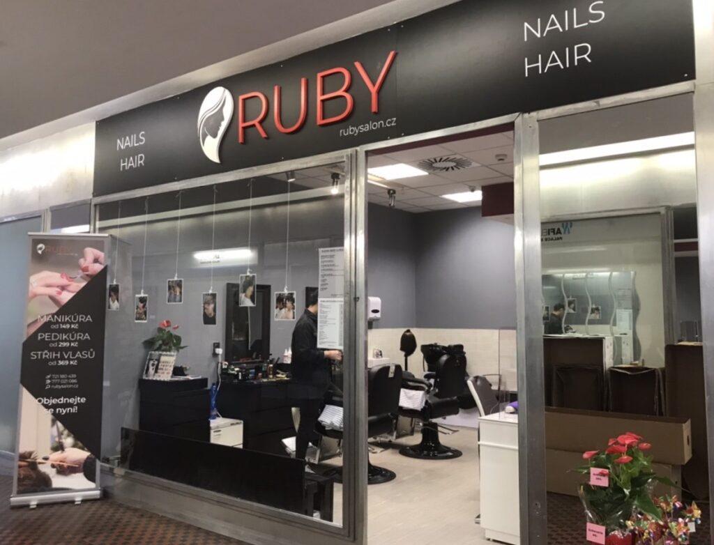 storefront, nails studio, beauty studio, Ruby Nails